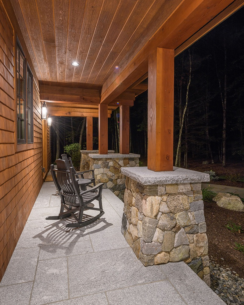 Outdoor Stone Patio