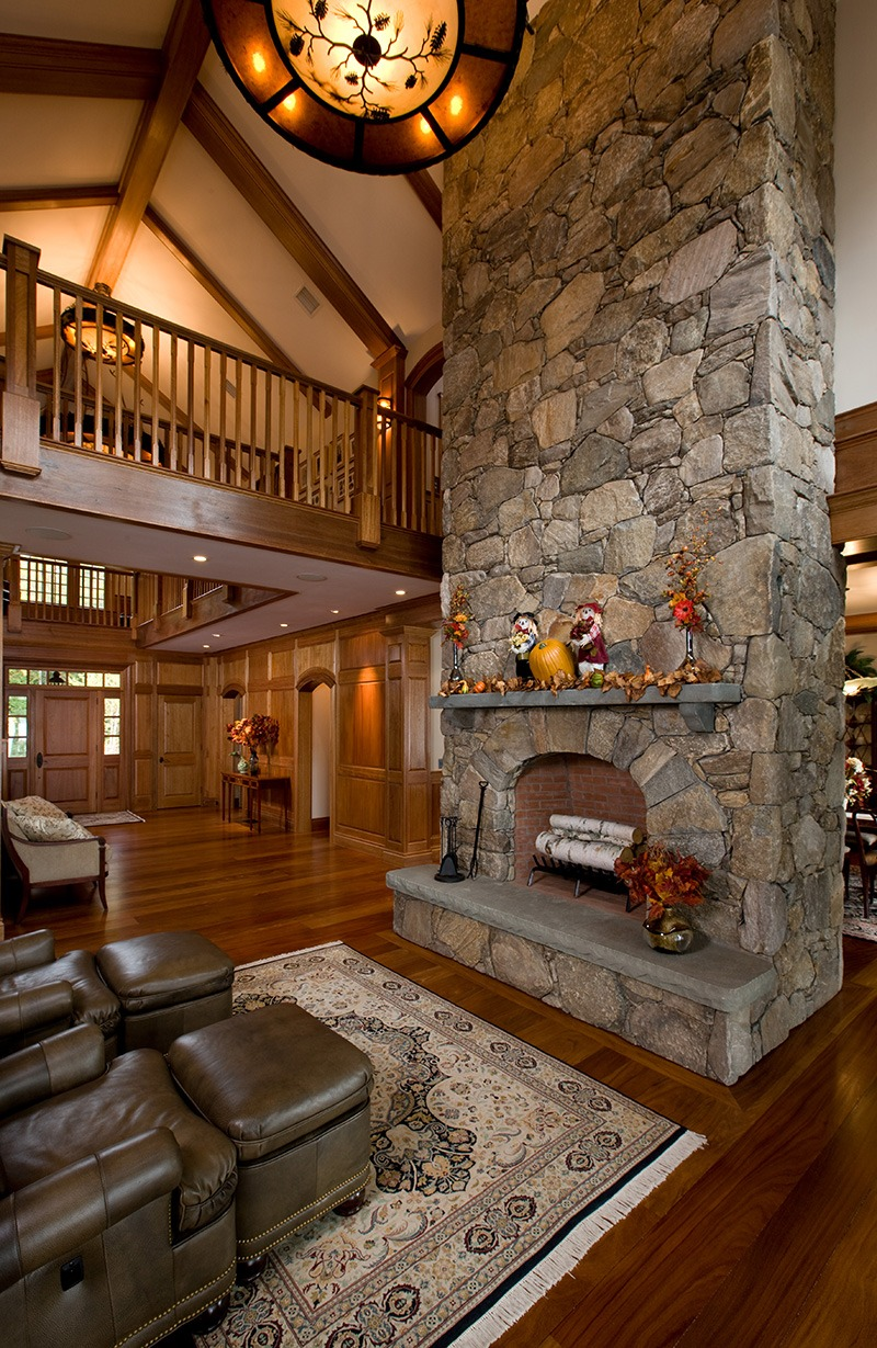 Living Room Fireplace