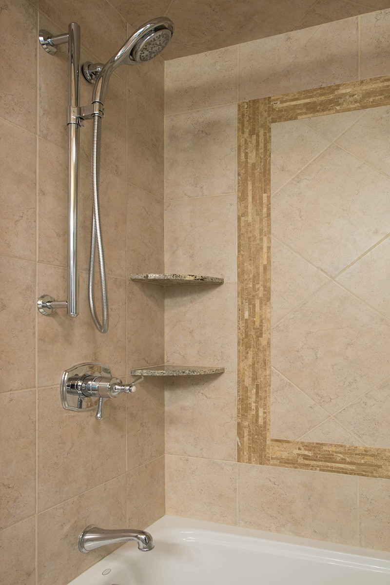Stand Up Shower Shelves