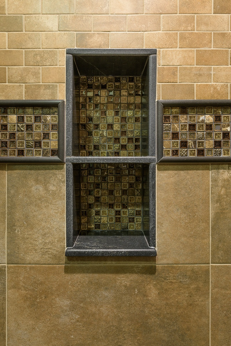 Stone Shower Detail