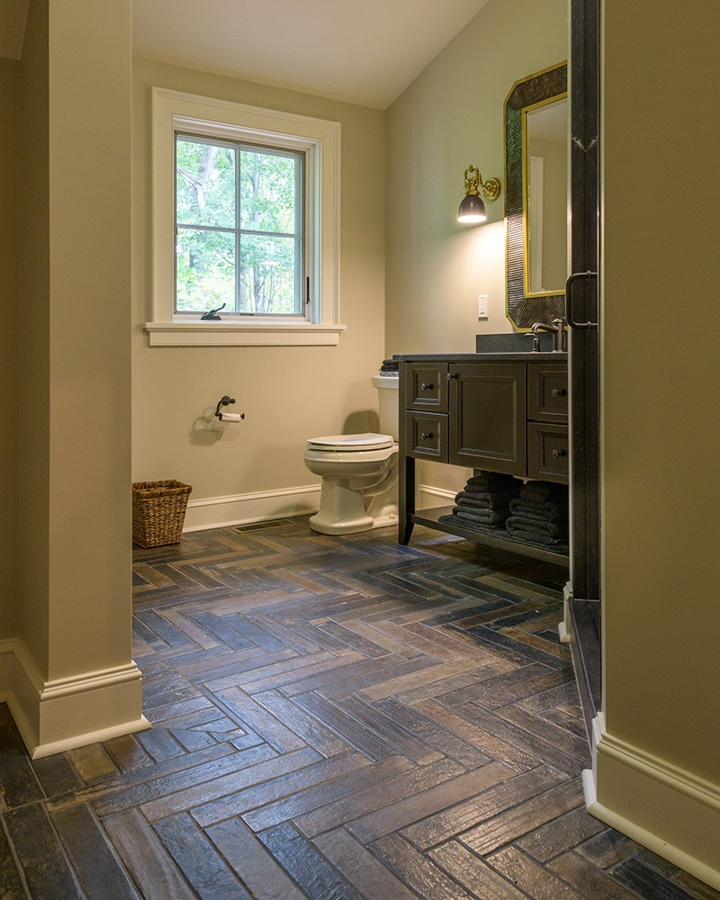 Bathroom Wood Floors