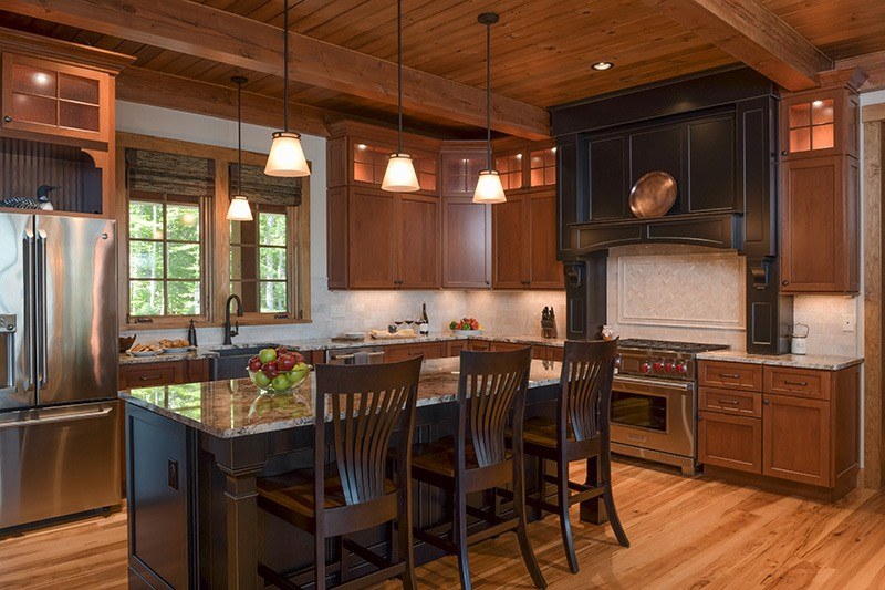 Lake House Kitchen Island