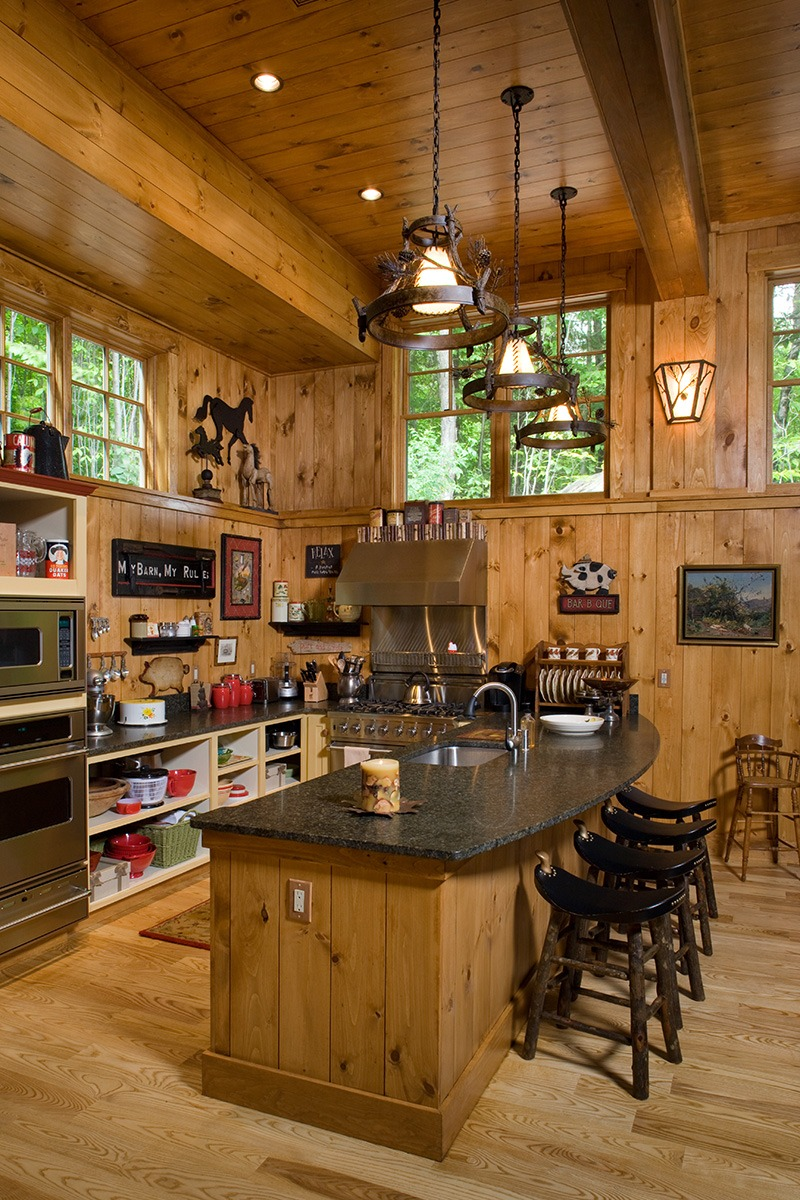 Family Barn Kitchen Island