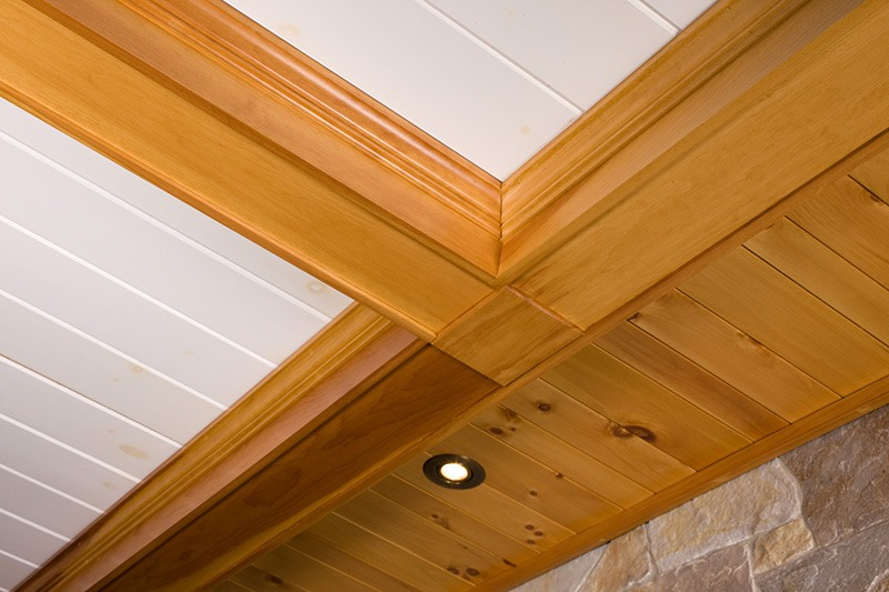 Wood Ceiling Molding