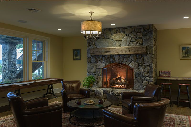 Lake House 2 Fireplaces