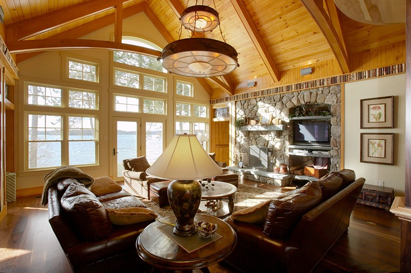 Lake House 6 Fireplaces