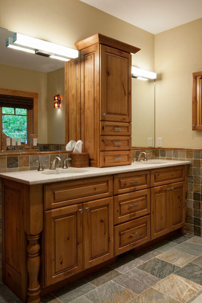 Bathroom granite countertops
