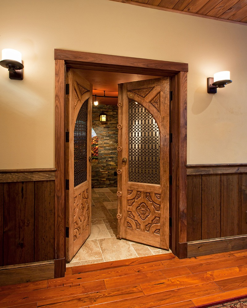Wine Cellar Doorway